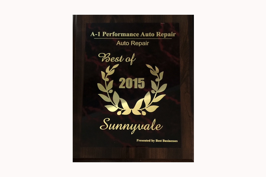 Auto Repair Award Selects A1 Performance as Winner