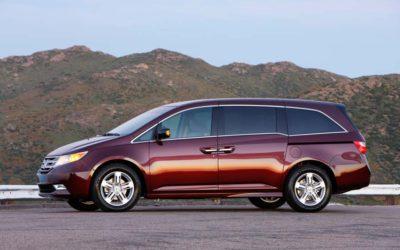 Honda Odyssey Minivans Recalled for Back Seat Issue