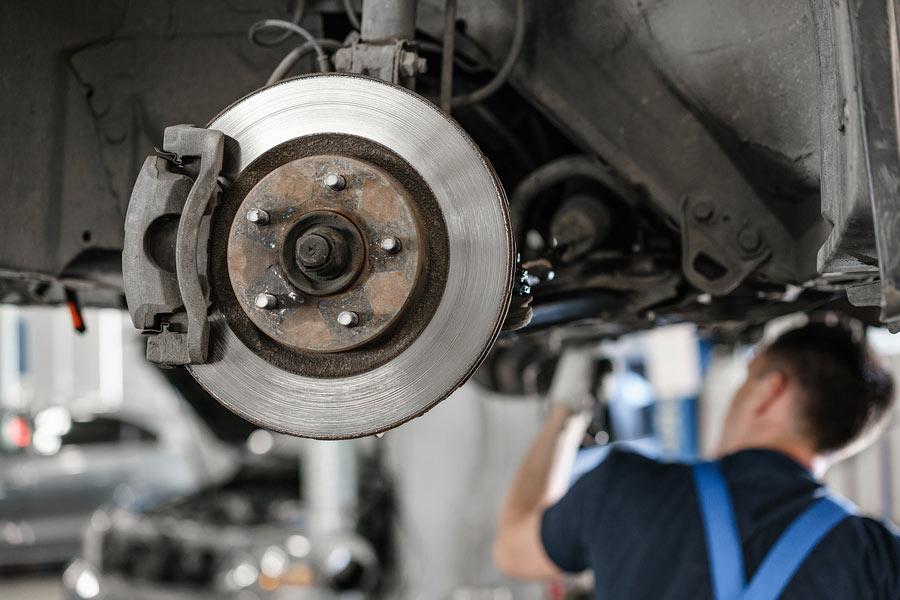 Bad rotors are an expensive repair.