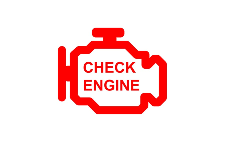 What is means when the check engine light stays on.