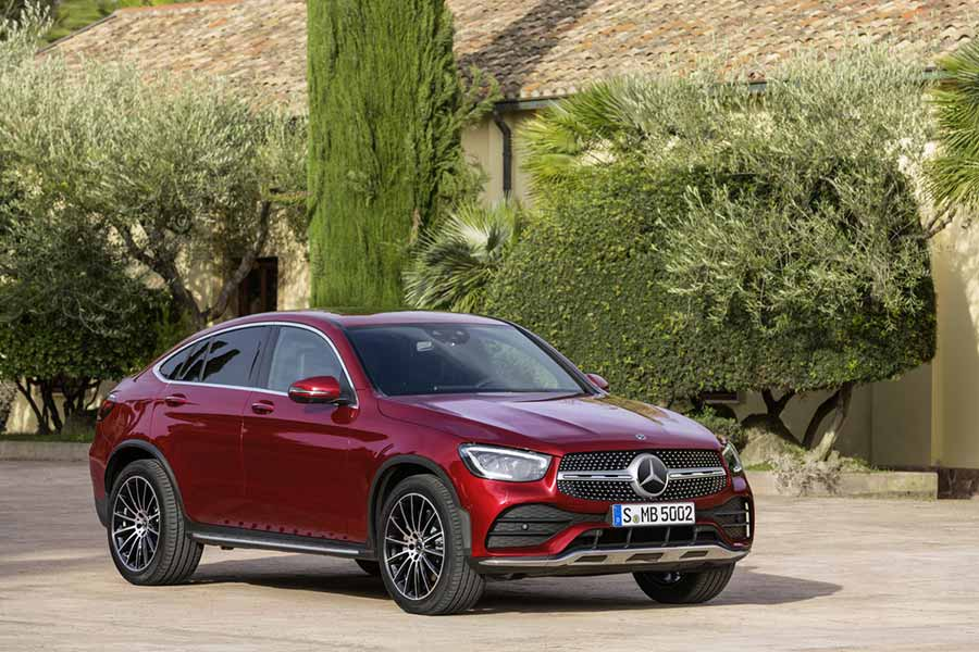 It is a redesigned Mercedes GLC Coupe for 2020.