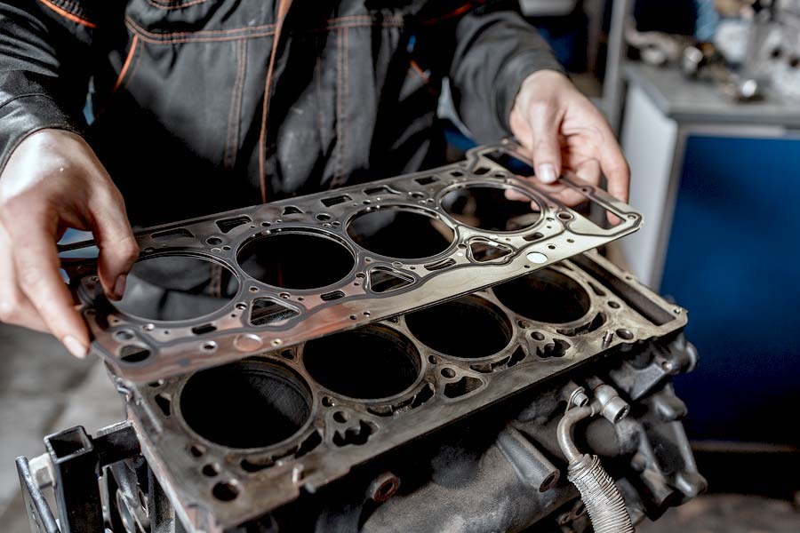 The car head gasket will let you know it's having a problem.